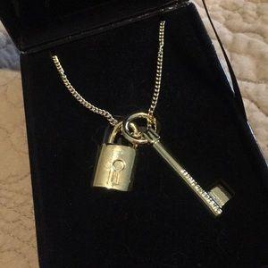 Victoria's Secret Scandalous Lock & Key Necklace